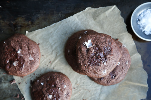 Buckwheat Double Chocolate Cookies | The Recipe is adapted from The Bojon Gourmet's Alternative Baker | Gluten-free, Healthy and Delicious for the Holidays