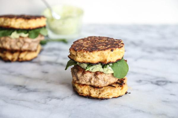 Paleo Ramen Burgers With Parsnip Noodle Buns Healthy Whole30