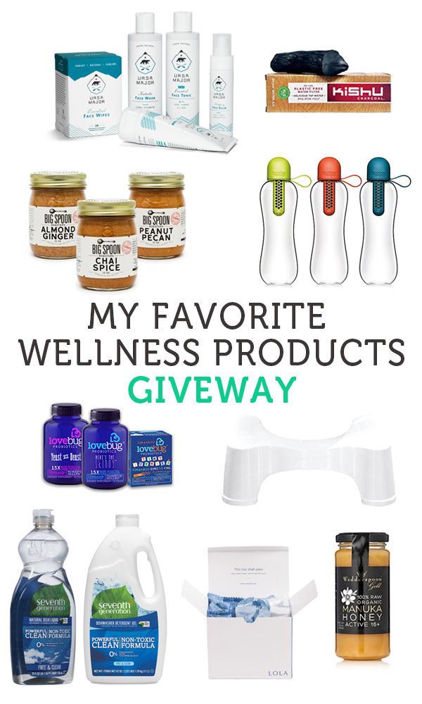 The Best Wellness Products Giveaway | The Wellness Project Book