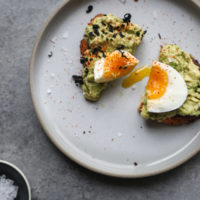 Sesame Avocado Toasts with Jammy Eggs + a BIG Book Wolf Gourmet Giveaway