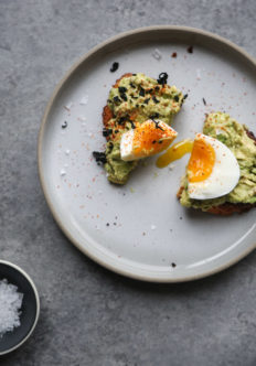 Sesame Avocado Toast with Jammy Eggs and Wakame | Feed Me Phoebe