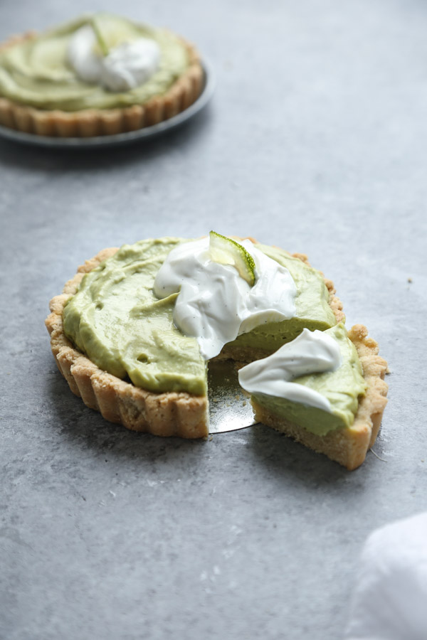 Gluten-Free Key Lime Pie Recipe with Paleo Avocado Filling and Almond Flour Crust   Healthy Summer Recipes From Feed Me Phoebe