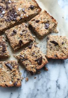Paleo Vegan Zucchini Bread with Chocolate Chunks