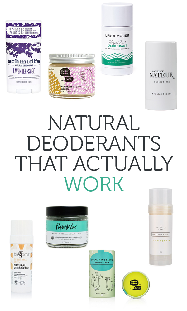 The Best All Natural Deodorant