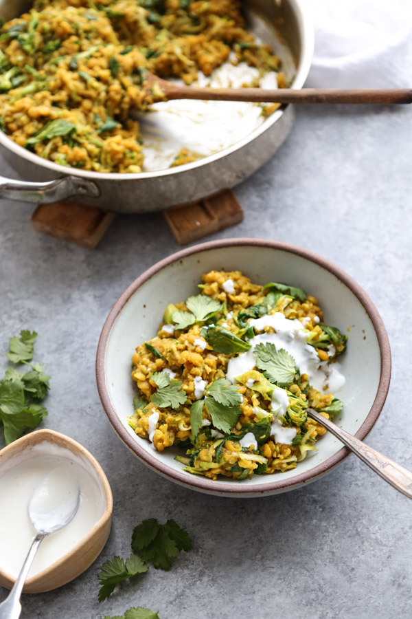 Ayurvedic Cleansing Green Kitchari Bowl