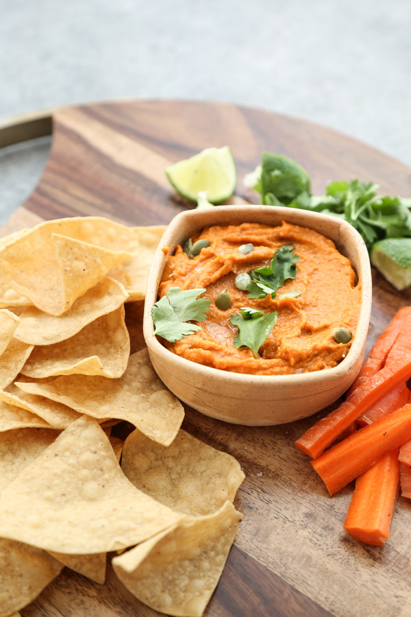 Roasted Carrot-Jalapeno Salsa with Pepitas Recipe (low FODMAP)