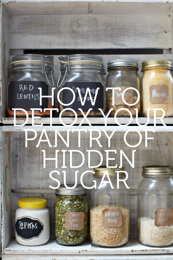 How to Detox Your Pantry of Hidden Sugars in Packaged, Processed Foods | The Biggest Added Sugar Offenders