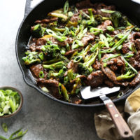 Healthy Mongolian Beef with Gluten-Free PF Chang's Sauce