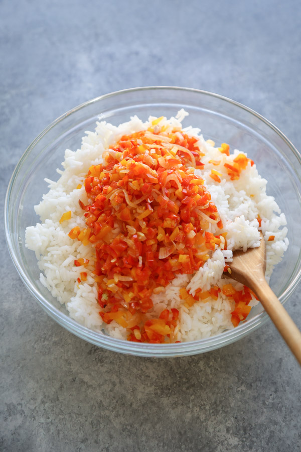 rice with sofrito
