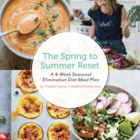 The Spring to Summer Reset: a 4 Week Seasonal Elimination Diet Meal Plan