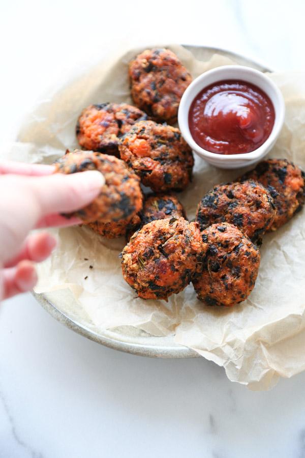 gluten-free veggie nuggets