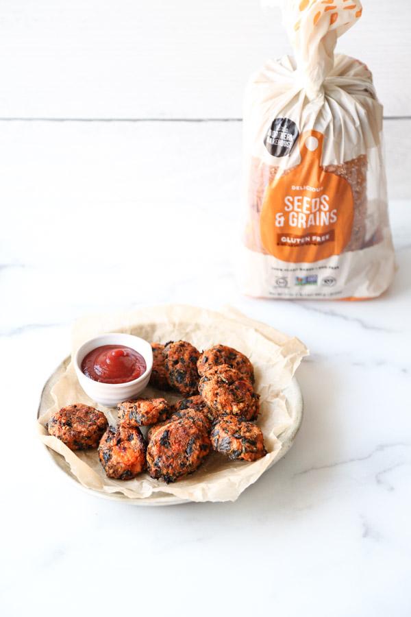 gluten-free vegan veggie nuggets