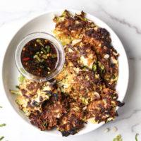 Gluten-Free Okonomiyaki (Japanese Cabbage-Scallion Pancakes)