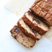 Gluten-Free Chocolate Chip Banana Bread