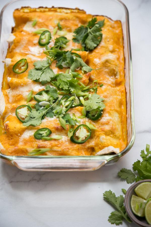 Sweet Potato Enchiladas Recipe